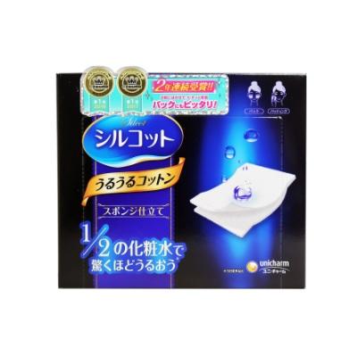 【好價】Unicharm 尤妮佳1/2省水化妝棉 40枚