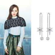【唐嫣同款】Swarovski Fantastic Chain 珍珠流星耳線