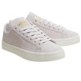 【5折+額外8折】Adidas 阿迪達斯 Court Vantage 少女軟粉色金標運動鞋