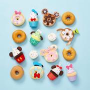 Disney 迪士尼:精美超可愛人氣甜點毛絨玩具