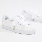 【大表姐同款】Puma  Basket Heart  彪馬白色運動鞋
