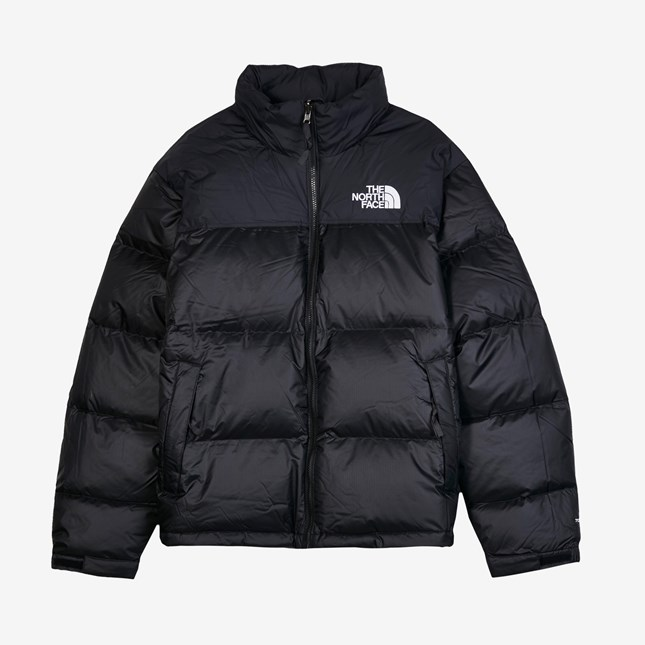 the north face 北脸全黑复古羽绒服