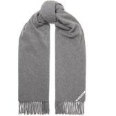 ACNE STUDIOS Canada 流蘇羊毛圍巾