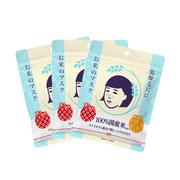 【單件63元】石澤研究所 毛孔撫子大米收縮毛孔面膜 10片*3件