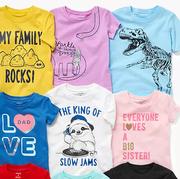 Carter's 卡特美國官網:童裝T恤衫