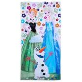 Disney 迪士尼 《冰雪奇緣》純棉卡通沙灘浴巾 73cm*149cm