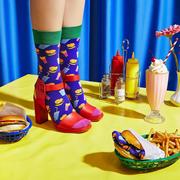 Happy Socks 官網:2019新品 Junk Food 系列美襪上新