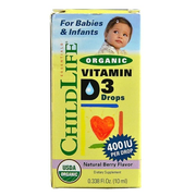【額外8折】Childlife 童年時光必備有機維生素D3滴劑 10ml