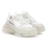 BALENCIAGA Triple S 白色透明底老爹鞋