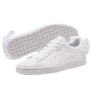 【大碼福利】Puma 彪馬 Basket Bow 蝴蝶結板鞋 白色 大童款