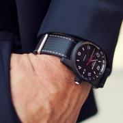4.5折!Montblanc 萬寶龍 Timewalker 系列 黑色圓盤男士經典腕表 115079