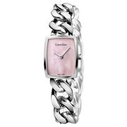 Calvin Klein 卡爾文·克雷恩 Amaze 系列 粉色珍珠母貝女士氣質腕表 K5D2S12E