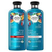 【中亞Prime會員】Herbal Essences 伊卡璐 草本精華摩洛哥修復洗護套裝 洗發水+護發素 400ml*2瓶
