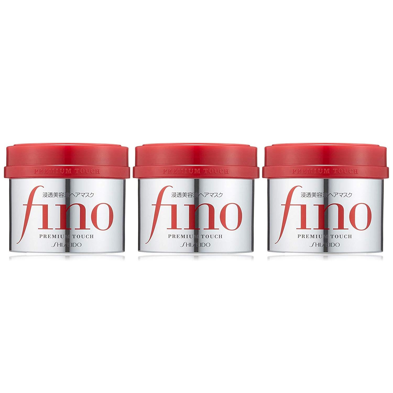 【中亞Prime會員】Fino 美容液浸透護發膜 230g×3罐裝