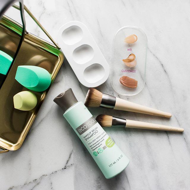 【額外9折】美國環保化妝工具商!iHerb:精選 EcoTools 化妝工具專場