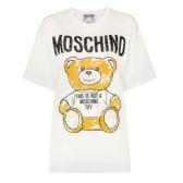 MOSCHINO 泰迪熊圖案logo全棉T恤