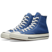 CONVERSE CHUCK TAYLOR 1970s 海軍藍高幫帆布鞋