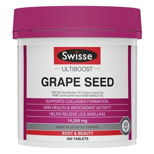 【滿減10澳】Swisse 高強度葡萄籽 14250mg 300粒