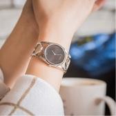 Calvin Klein 卡爾文·克雷恩 Round 系列 銀黑色女士時裝腕表 K5U2S141