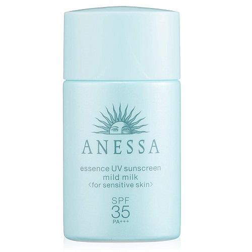 補貨!【日亞自營】資生堂 ANESSA 安耐曬 敏感肌小藍瓶防曬霜 SPF35/PA+++ 20ml