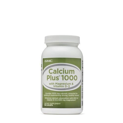 GNC 健安喜 鈣+維生素D3&鎂 1000mg*180粒