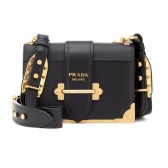 PRADA Cahier 黑色方塊包包