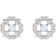 Swarovski Sparkling-Dance 花朵耳釘