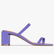 37碼有貨~BY FAR Tanya 67 紫色涼鞋