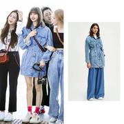 【Lisa同款】Levi's MADE&CRAFTED 系列收腰牛仔連衣裙