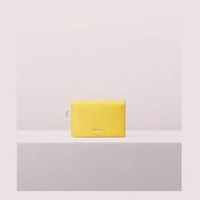 kate spade 黃色卡包