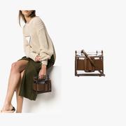 Boyy 棕色邊框透明 PVC 手提包