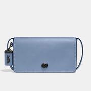 新低價~Coach Dinky 系列藍色真皮包包