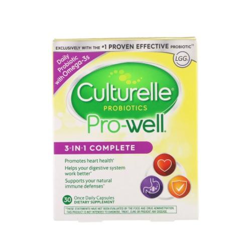【限時特價】Culturelle 康萃樂 Pro-Well 三合一益生菌 30片
