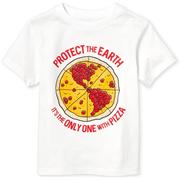 The Children's Place 童款白色圖案T恤衫