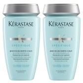 【即將下架】Kérastase 卡詩 頭皮舒緩絲盈洗發水 淡藍瓶/干性發質適用 250ml×2瓶