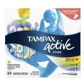 【第2件半價+額外8折】Tampax 丹碧絲運動系列 內置導管式衛生棉條 34條