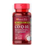 Puritan's Pride 普麗普萊 輔酶COQ10+白藜蘆醇&葡萄籽 60粒
