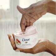 1件39元~【第2件半價】Dove 多芬 石榴籽乳木果味冰激凌身體磨砂膏  298g