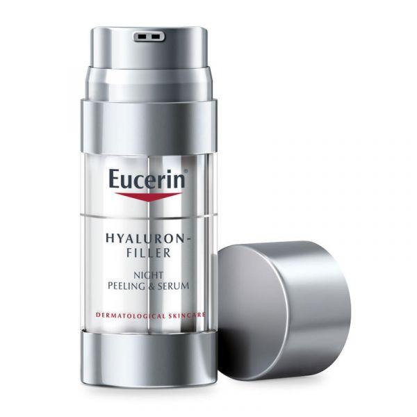 【滿£88立減£8】Eucerin 優色林 玻尿酸夜間去角質抗衰老護膚精華 30ml