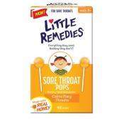 【7.6折+滿額額外8.5折】Little remedies 天然蜂蜜舒緩棒棒糖兒童寶寶潤喉糖 10支