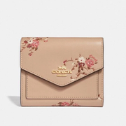 最后一只~Coach Small Wallet 印花小錢包