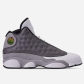【基本碼全】Air Jordan 喬丹 Retro 13 大童款籃球鞋 灰白