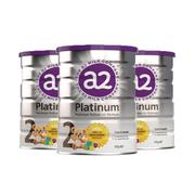 【包郵包稅】A2 嬰幼兒奶粉 2段 900g*3罐