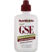 【4件0稅免郵】NutriBiotic GSE 葡萄柚籽提取精華液 59ml