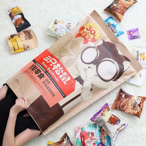 【返利10.8%】三只松鼠 巨型零食大禮包 30袋