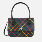 Vivienne Westwood Edinburgh 復古格紋小號手提單肩包