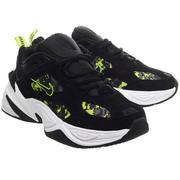 降價!Nike 耐克 M2k Tekno  黑色熒光綠老爹鞋
