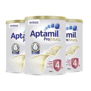【包郵包稅】Aptamil Profutura 愛他美鉑金嬰幼兒奶粉 4段 900g*3罐