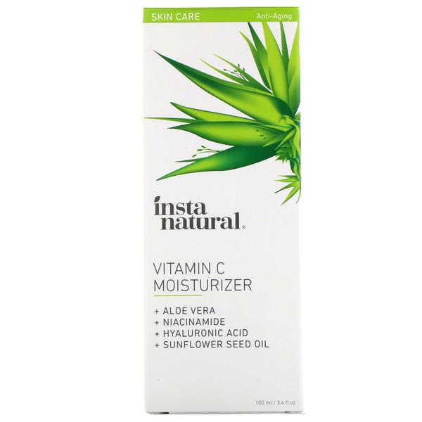 【2件0稅免郵】InstaNatural 維生素C保濕乳 100ml