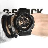【55專享】補貨!Casio 卡西歐 G-Shock 系列 黑色男士運動腕表 GA110RG-1A